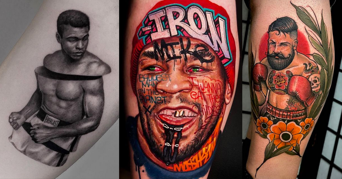 40 Badass Boxing Tattoos - Tattoo Ideas, Artists and Models